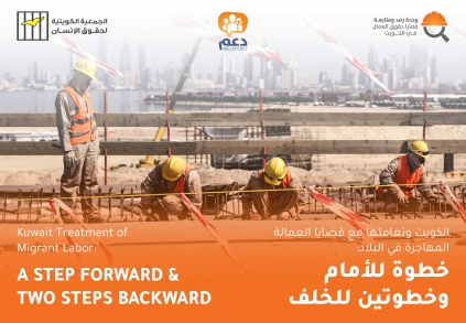 Migrant labor in Kuwait during the third of the year.. Monitoring report